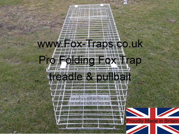 treadplate activated door OR pull bait