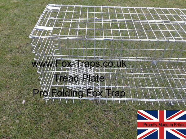 use either the pull bait wire or tread plate